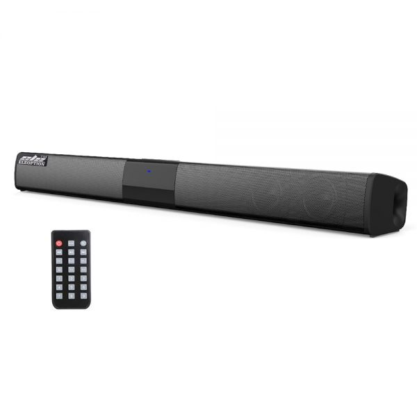 20W Portable Wireless Column Soundbar Bluetooth Speaker with Powerful 3D Music for Home Theater - TV & PC