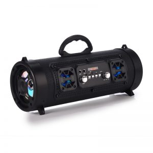 16W Portable Column Bluetooth Speaker Move KTV 3D Sound System Sound Bar Subwoofer Music Wireless Speaker FM Radio USB