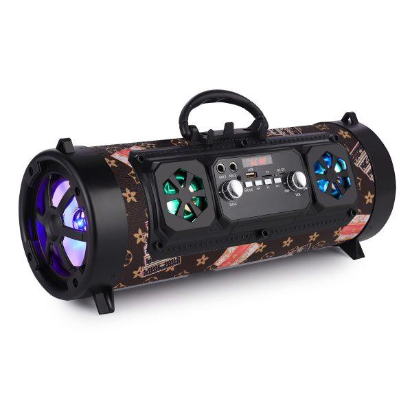 16W Portable Column Bluetooth Speaker Move KTV 3D Sound System Sound Bar Subwoofer Music Wireless Speaker FM Radio USB
